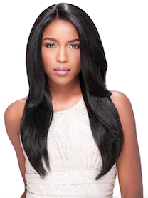 Custom Lace Wig Straight, Synthetic Hair Wig