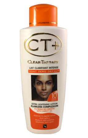 CT+ Clear Therapy Extra Lightening Lotion with Carrot Oil 16.9 oz /500 ml