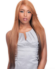 Front Lace Wig Edge 2-Way L-Part Candice, Lace Front Wig