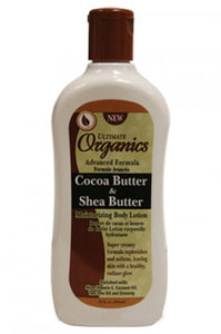 Ultimate Organics Cocoa & Shea Butter Body Lotion 12oz