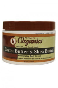 Ultimate Organics Cocoa & Shea Butter Body Cream 8oz