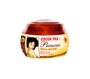 Princess Cocoa Butter Body and Hand Jar Cream Cocoa Paa 15.03oz