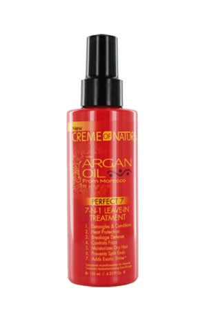 Creme of Nature Argan Oil 7in1 Leave-In Treatment 7 4.23oz