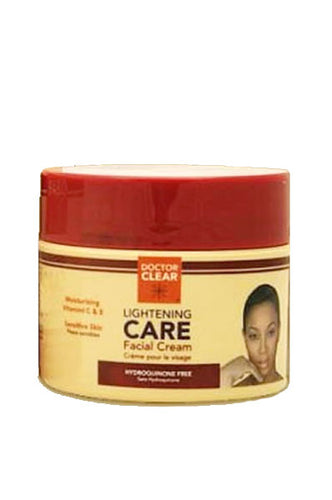 Doctor Clear Care Facial Cream [Double Strength] 8oz