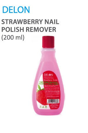 Delon Strawberry Nail Polish Remover 200ml