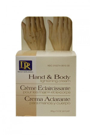 D&R Hand&Body Lightening Cream 3oz