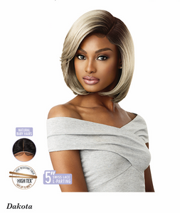 Lace Front Wig Dakota, Synthetic Hair Wig