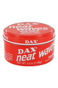 Dax Wave Groom Hair Dress Red Can 3.05oz