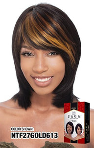 Saga Destiny 100% Remy Hair Wig
