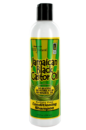 Doo Gro Jamaican Black Caster Oil Conditioner Shampoo 10oz