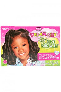 Dream Kids Olive Miracle Anti-Breakage No-Lye Relaxer-Reg