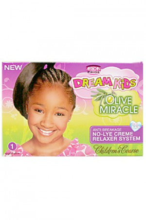 Dream Kids Olive MiracleAnti-Breakage No-Lye Relaxer-Coarse