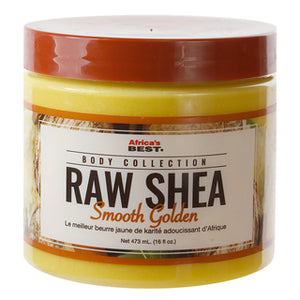 AFRICAS BEST Raw Shea Smooth Golden (16oz)