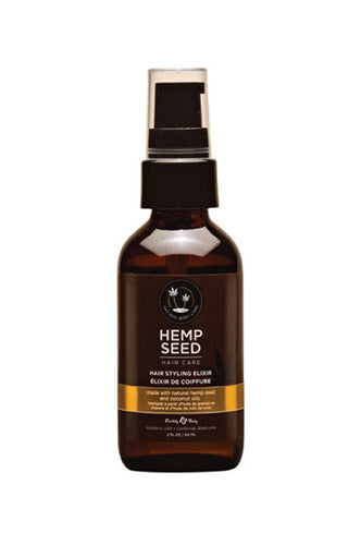 Earthly Body Hemp Seed Hair Styling Elixir 2oz