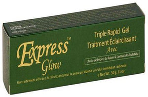 Express Glow Triple Fast Lightening Treatment Gel 1oz