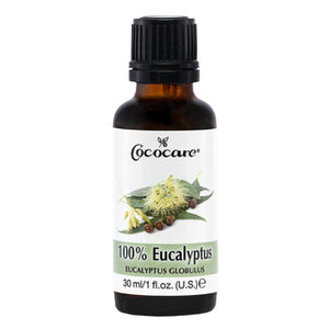 COCOCARE 100% Natural Eucalyptus Oil (1oz)