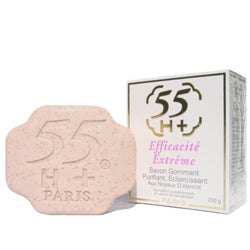 55 H+ Paris Efficacite Extreme Lightening Exfoliating Soap 7 oz / 200g