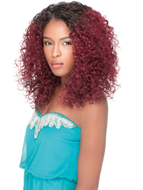 Front Lace Wig Edge Evelyn, Synthetic Hair Wig