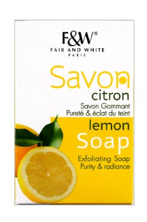 Fair & White Lemon Soap 7oz