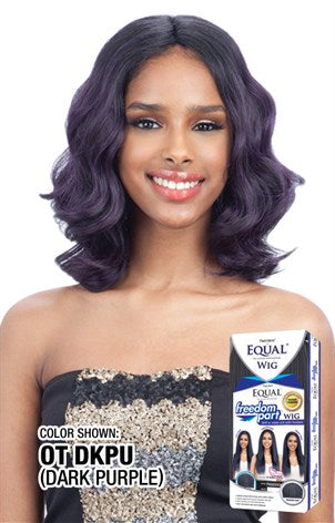 Freetress Equal Free Part 102, Synthetic Hair Wig