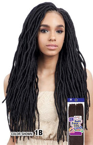 "Freetress 2X Soft Wavy Faux Loc 20"",  Synthetic Braids"