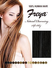 "Freya Silky Weaving 18"", 100% Human Hair"