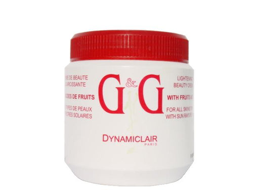 G & G Dynamiclair Lightening Beauty Jar Cream (red) 17.6 oz