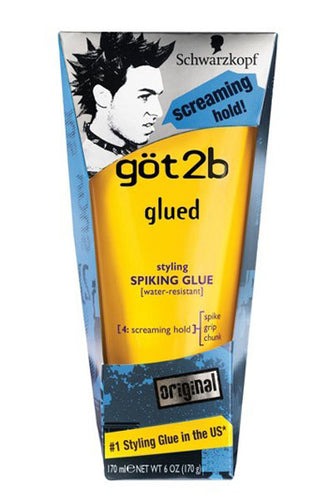 Got2b Glued Spiking Glue  6oz  #Yellow