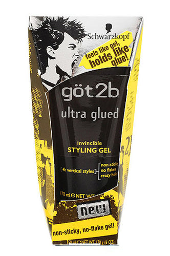 Got2b Glued Spiking Glue  6oz  #Black