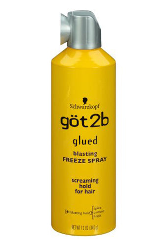 Got2b Glued Blasting Freeze Spray 12oz