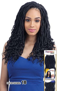 "Freetress Goddess Loc 14"",  Synthetic Braids"