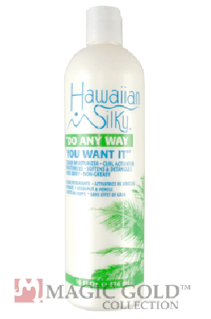 Hawaiian Silky Cream Moisture Curl Activator Do Any Way 16oz
