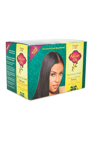 Hawaiian Silky Argan Oil No-Lye Relaxer-Super 1app