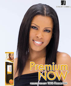 "Premium Now Yaki Wvg 16"", Human Hair Extensions"