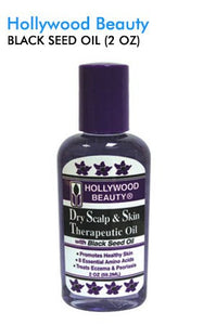 HollyWood Beauty Lavender Oil with Black Seed Oil 2 Oz