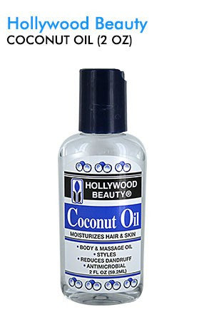 Hollywood Beauty Coconut Oil 2oz