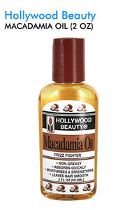 Hollywood Beauty Macadamia Oil 2oz