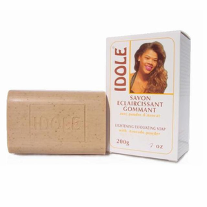 Idole Lightening Exfoliating Soap with Avocado Powder 7 oz / 200g