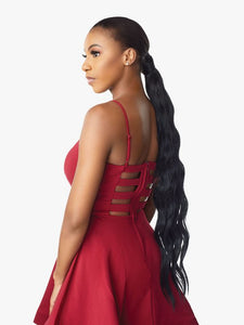 Instant Pony Wrap Loose Wave, Ponytail 30""