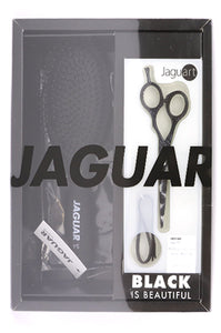 Jaguar Black Paradise Scissors 5.5 inch(14cm) w/Free Brush, Scissors