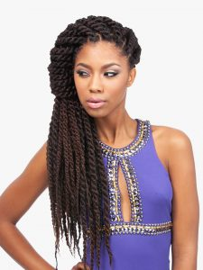"X-Pression Jamaican Locks 44"", Synthetic Braids"