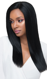 HANDTIED LACE WIG  KARA, Synthetic Hair Wig