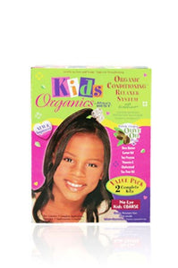 Organics Kid's Relaxer System-Value Pk Coarse