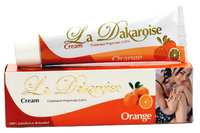 La Dakaroise Orange Tube Cream 1.76 oz / 50 g