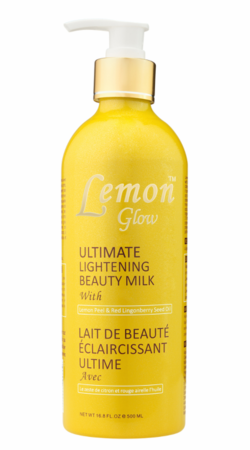 Lemon Glow Ultimate  Beauty Milk 500ml / 16.8 oz