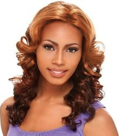 Front Lace Wig LS Lauren, Synthetic Hair Wig