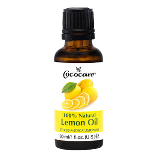 COCOCARE 100% Natural Lemon Oil (1oz)