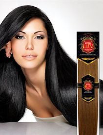 "European Silky Straight LUV 10"", 100% Human Hair"