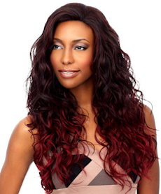 Front Lace Wig Edge Lydia, Synthetic Hair Wig