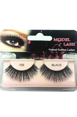 Model Lash Natural Remy Hair Fashion Lashes Black #109